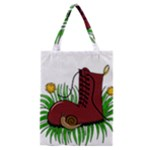 Boot in the grass Classic Tote Bag