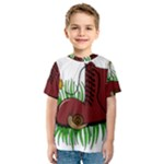 Boot in the grass Kids  Sport Mesh Tee
