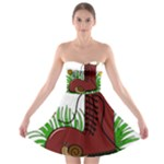 Boot in the grass Strapless Bra Top Dress