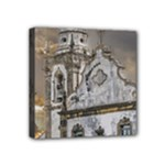 Exterior Facade Antique Colonial Church Olinda Brazil Mini Canvas 4  x 4