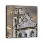 Exterior Facade Antique Colonial Church Olinda Brazil Mini Canvas 6  x 6