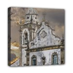 Exterior Facade Antique Colonial Church Olinda Brazil Mini Canvas 8  x 8