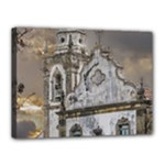 Exterior Facade Antique Colonial Church Olinda Brazil Canvas 16  x 12