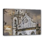 Exterior Facade Antique Colonial Church Olinda Brazil Canvas 18  x 12