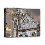 Exterior Facade Antique Colonial Church Olinda Brazil Deluxe Canvas 14  x 11