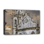 Exterior Facade Antique Colonial Church Olinda Brazil Deluxe Canvas 18  x 12