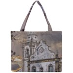 Exterior Facade Antique Colonial Church Olinda Brazil Mini Tote Bag