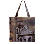 Exterior Facade Antique Colonial Church Olinda Brazil Zipper Grocery Tote Bag