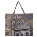 Exterior Facade Antique Colonial Church Olinda Brazil Zipper Large Tote Bag