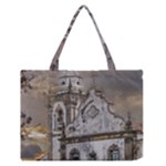 Exterior Facade Antique Colonial Church Olinda Brazil Medium Zipper Tote Bag
