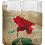 Red Rose Art Duvet Cover Double Side (King Size)
