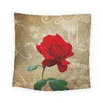 Red Rose Art Square Tapestry (Small)