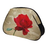 Red Rose Art Full Print Accessory Pouch (Small)