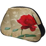 Red Rose Art Full Print Accessory Pouch (Big)