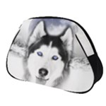 Wolf Moon Mountains Full Print Accessory Pouch (Small)