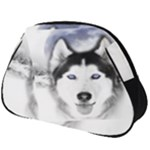 Wolf Moon Mountains Full Print Accessory Pouch (Big)