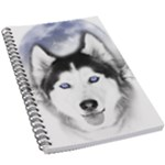 Wolf Moon Mountains 5.5  x 8.5  Notebook