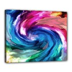 Water Paint Canvas 20  x 16  (Stretched)