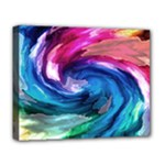 Water Paint Deluxe Canvas 20  x 16  (Stretched)