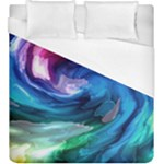 Water Paint Duvet Cover (King Size)