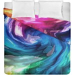 Water Paint Duvet Cover Double Side (King Size)