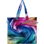 Water Paint Canvas Travel Bag