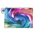 Water Paint Canvas Cosmetic Bag (XL)