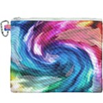 Water Paint Canvas Cosmetic Bag (XXXL)
