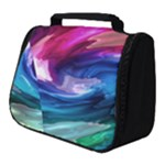 Water Paint Full Print Travel Pouch (Small)