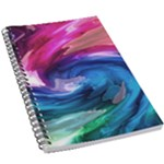 Water Paint 5.5  x 8.5  Notebook