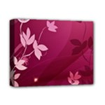 Pink Flower Art Deluxe Canvas 14  x 11  (Stretched)
