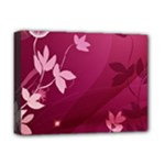 Pink Flower Art Deluxe Canvas 16  x 12  (Stretched)