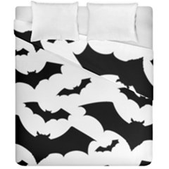 Deathrock Bats Duvet Cover Double Side (California King Size) from ArtsNow.com
