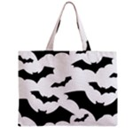 Deathrock Bats Zipper Medium Tote Bag