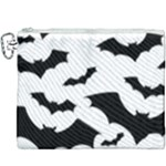 Deathrock Bats Canvas Cosmetic Bag (XXXL)