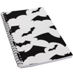 Deathrock Bats 5.5  x 8.5  Notebook