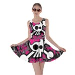 Girly Skull & Crossbones Skater Dress