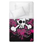 Girly Skull & Crossbones Duvet Cover (Single Size)