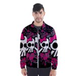 Girly Skull & Crossbones Men s Windbreaker
