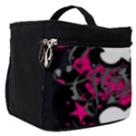 Girly Skull & Crossbones Make Up Travel Bag (Small)