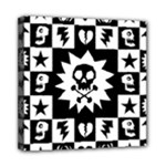 Gothic Punk Skull Mini Canvas 8  x 8  (Stretched)