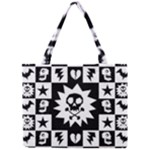 Gothic Punk Skull Mini Tote Bag
