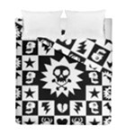 Gothic Punk Skull Duvet Cover Double Side (Full/ Double Size)