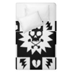 Gothic Punk Skull Duvet Cover Double Side (Single Size)