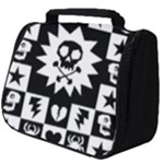 Gothic Punk Skull Full Print Travel Pouch (Big)