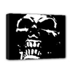 Morbid Skull Deluxe Canvas 16  x 12  (Stretched)