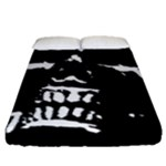 Morbid Skull Fitted Sheet (Queen Size)