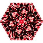 Love Heart Splatter Mini Folding Umbrella