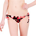 Love Heart Splatter Bikini Bottom