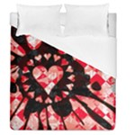 Love Heart Splatter Duvet Cover (Queen Size)